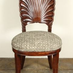 High Chairs On Sale Hickory Chair Newbury Stool Carved Shell Back For At 1stdibs