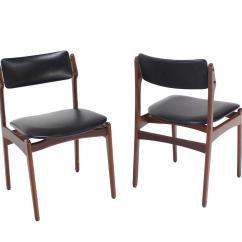 Danish Modern Dining Chair Zero Gravity Lounge Set Of Six Teak Chairs At 1stdibs