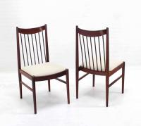 Set of Four Danish Mid Century Danish Modern Rosewood ...