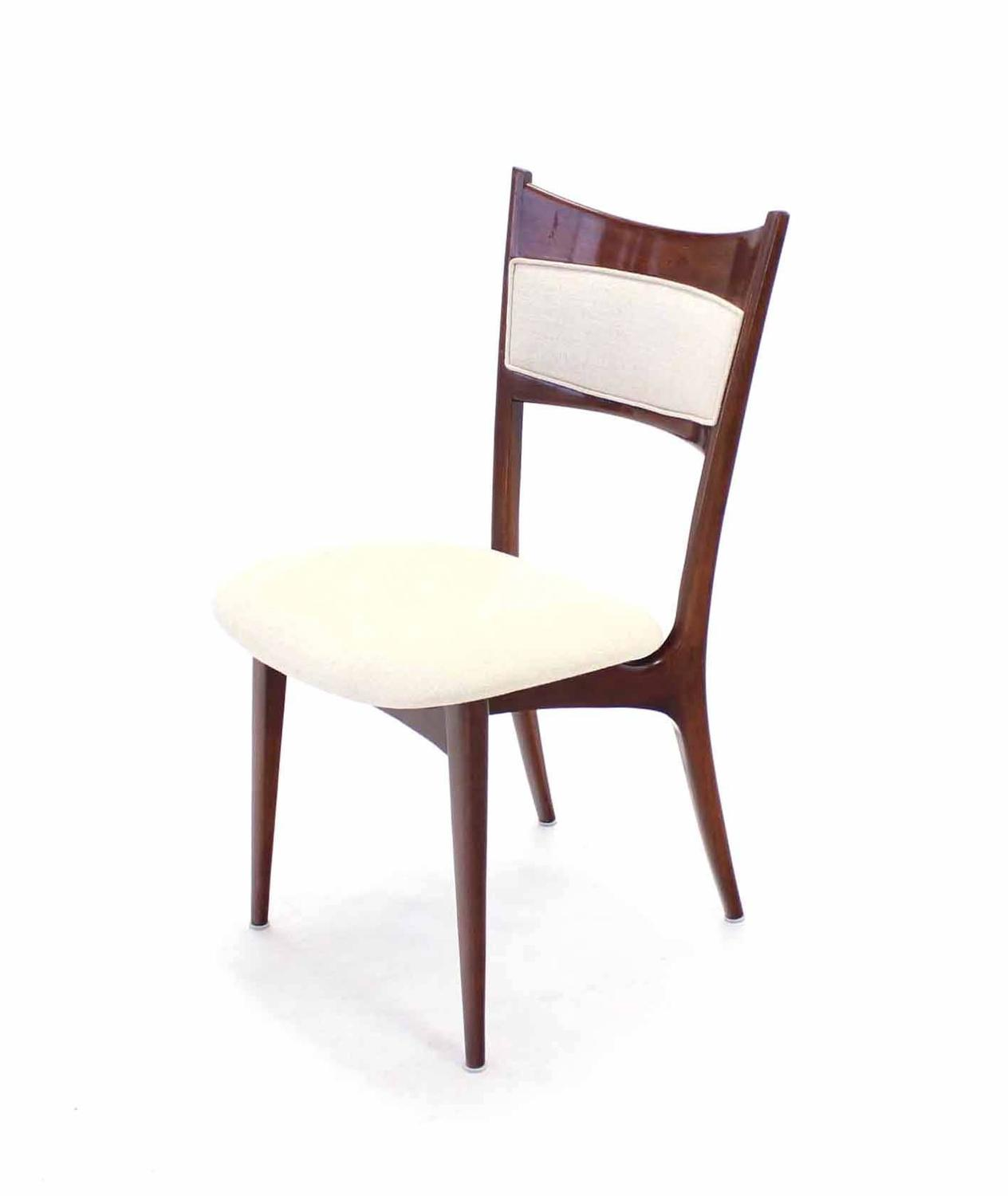 italian designer dining chairs chicco hook on chair recall set of six modern with new