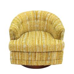Swivel Chaise Lounge Chair Used Chairs Ebay Barrel Back Walnut Base For Sale At