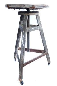 Rotating Sculpture Work Table For Sale at 1stdibs