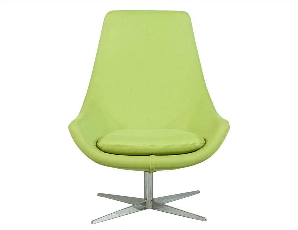 lime green chairs for sale chair cushions with ties uk pair of retro foot stools at 1stdibs mid century modern