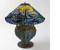 """Tiffany Studios """"Dragonfly"""" Table Lamp at 1stdibs"""