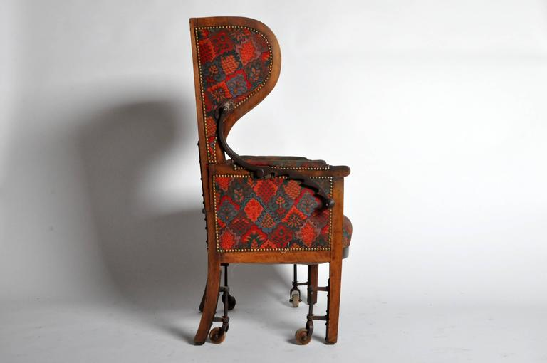 Reclining Wingback Chair at 1stdibs
