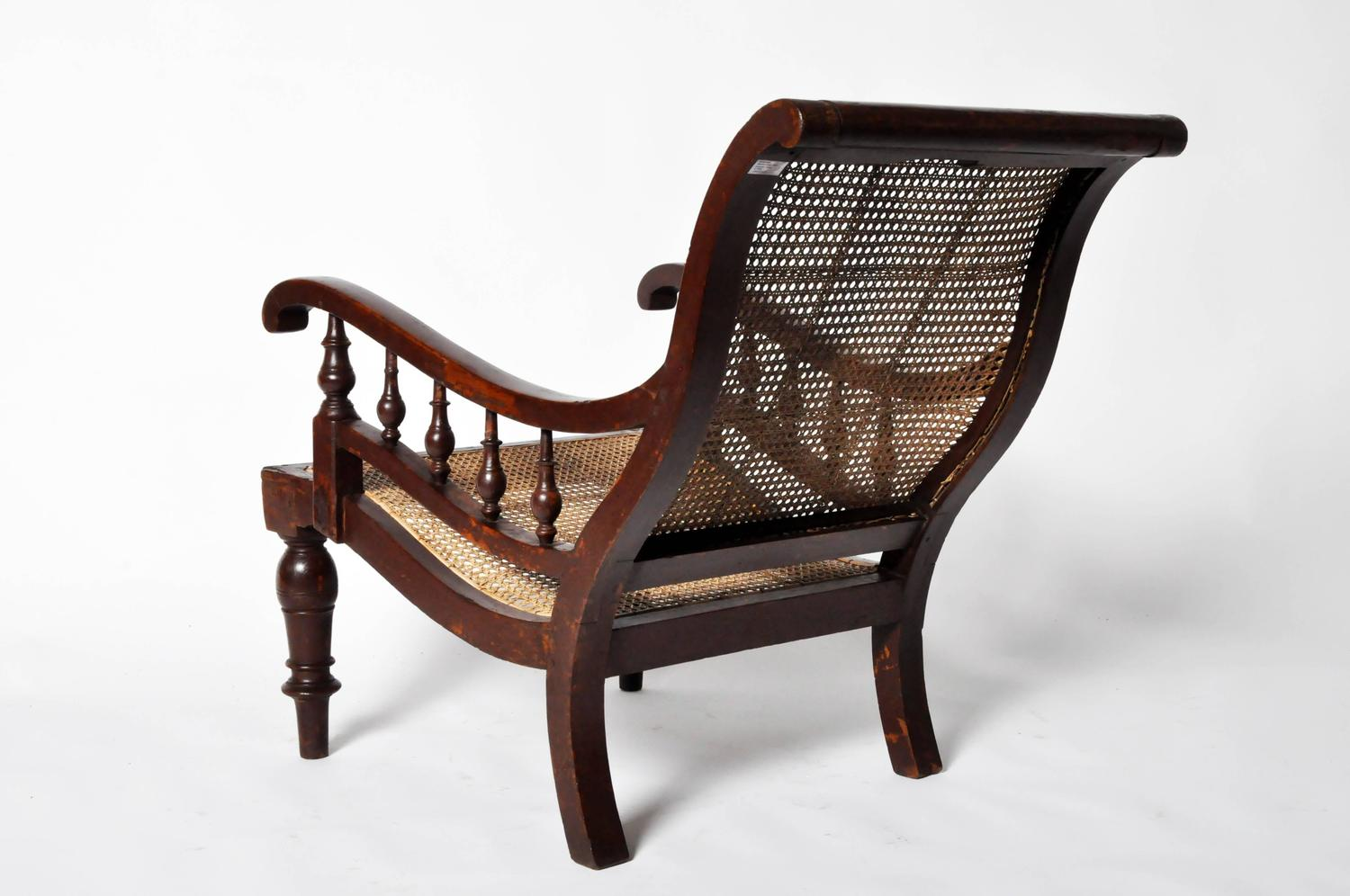 british colonial chair ribbed office planters at 1stdibs