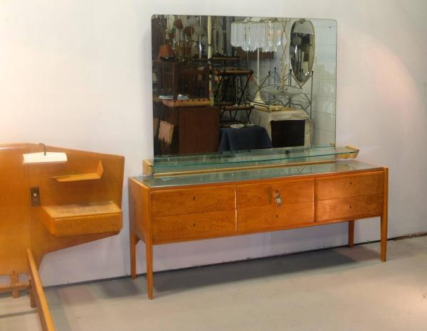 Gio Ponti Chest Of Drawers With Mirror 1stdibs