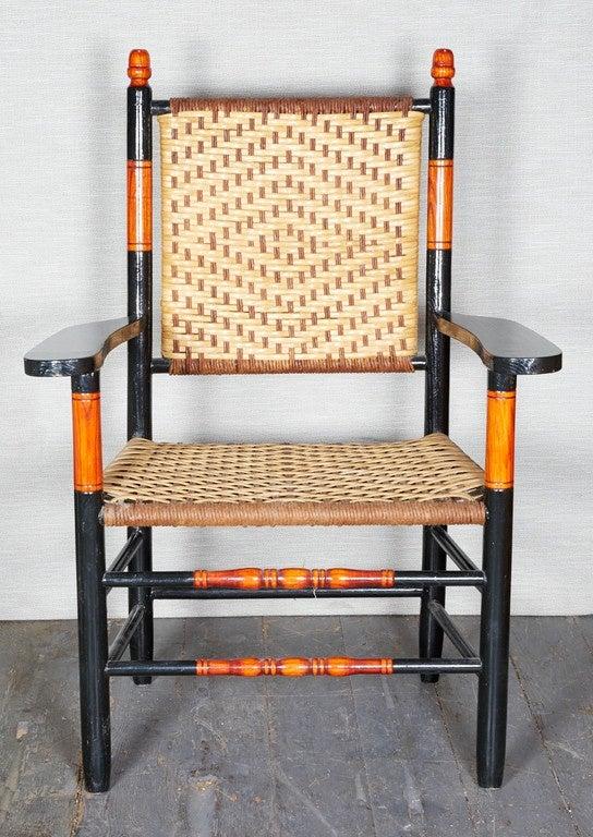 heywood wakefield dogbone chairs table and rental set of six heywood-wakefield armchairs at 1stdibs