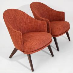 Adrian Pearsall Chair Designs Shabby Chic Dining Chairs Craft Associates Lounge Pair For