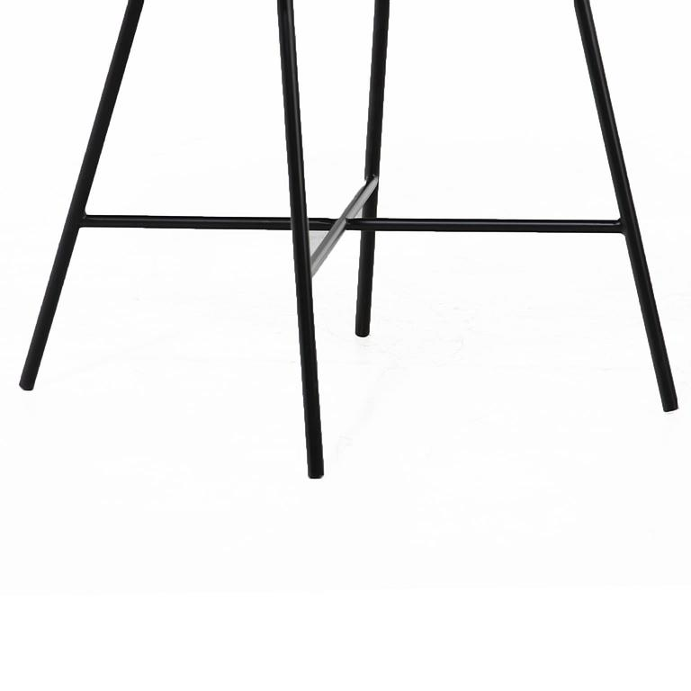 Alessandra Chair with Blackened Steel Frame by Thomas