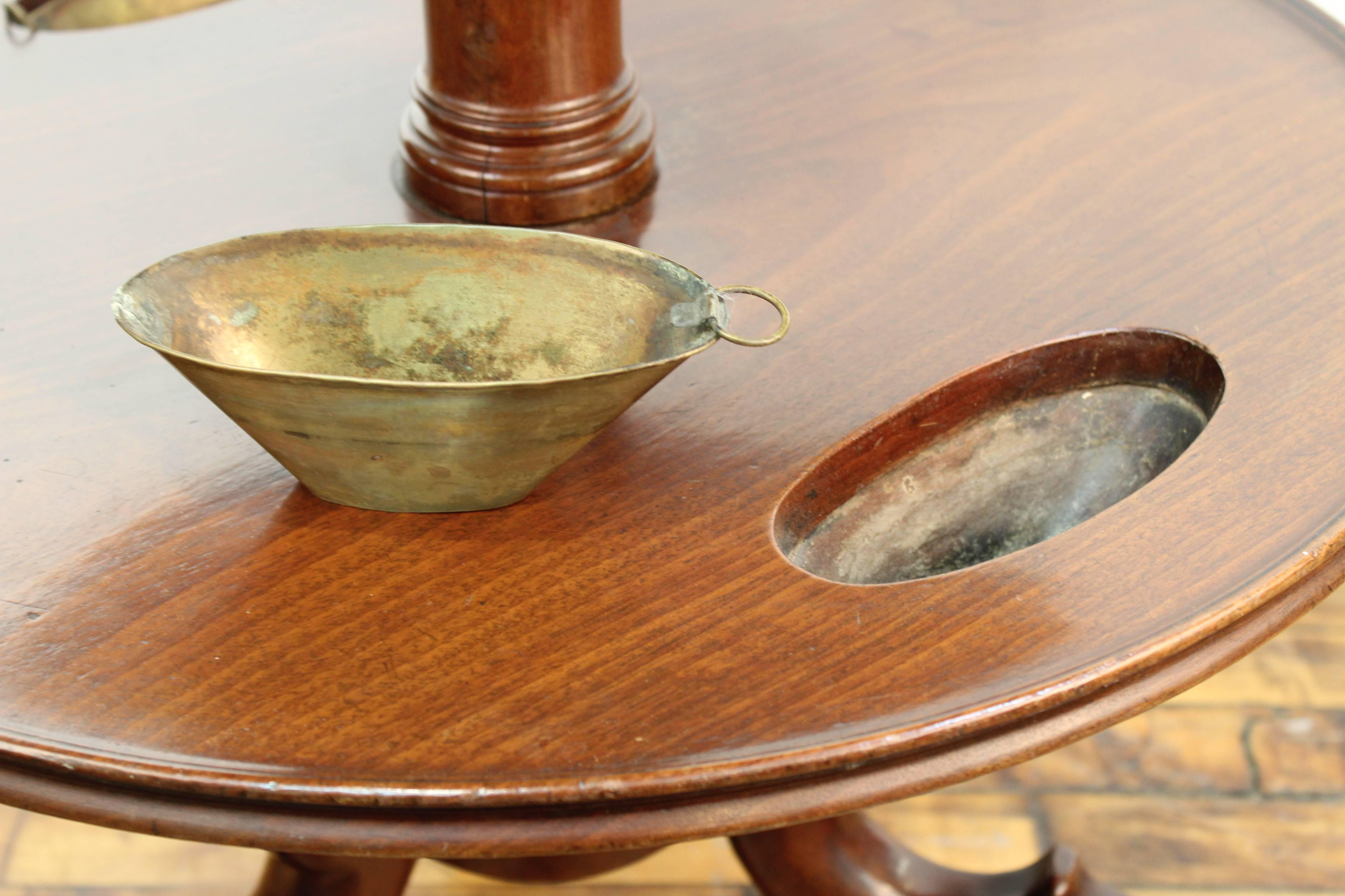 Antique Mirrored Trays Round