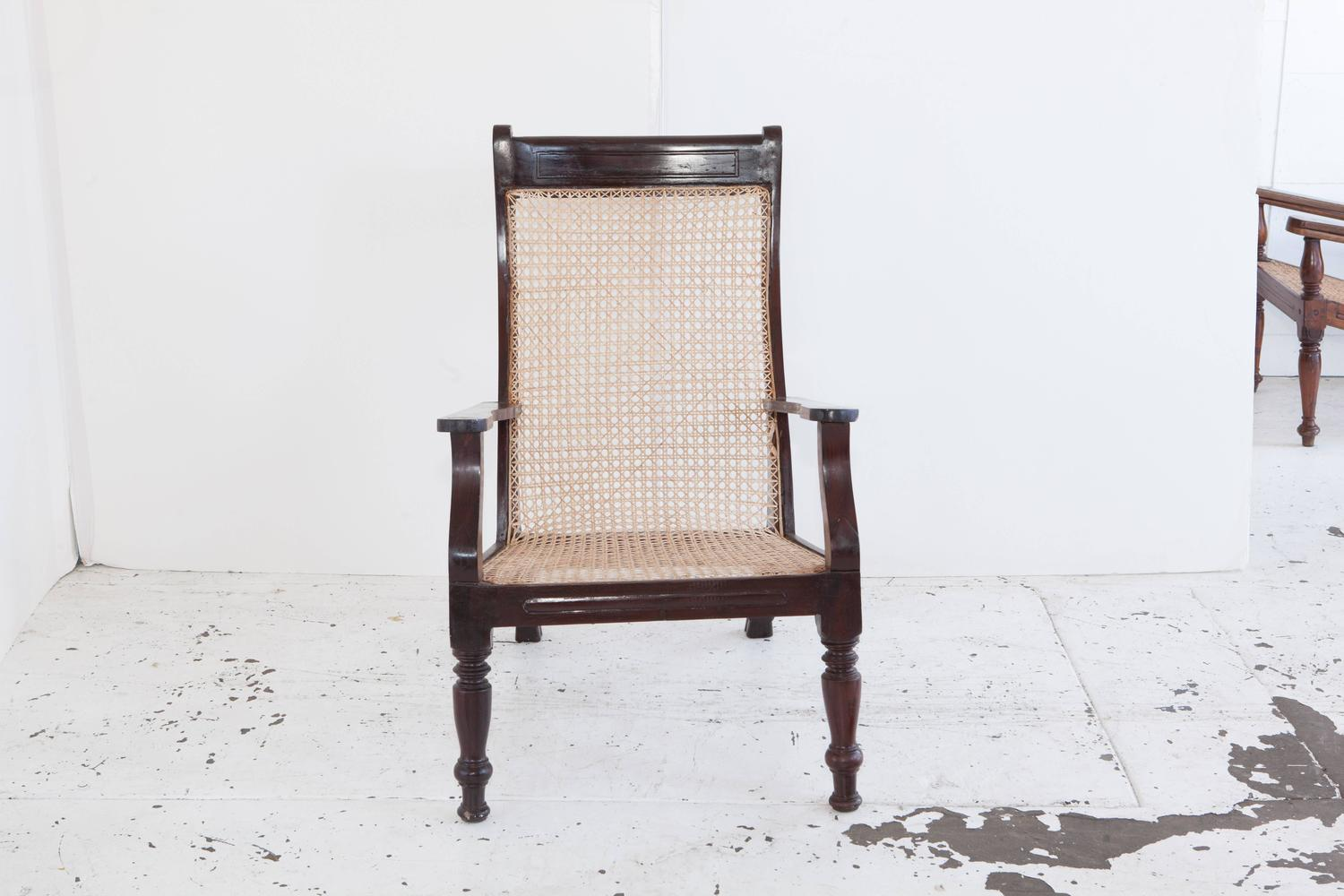plantation style chairs hanging chair buy anglo indian at 1stdibs