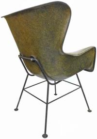 Wingback Fiberglass Chair by Lawrence Peabody for Selig ...