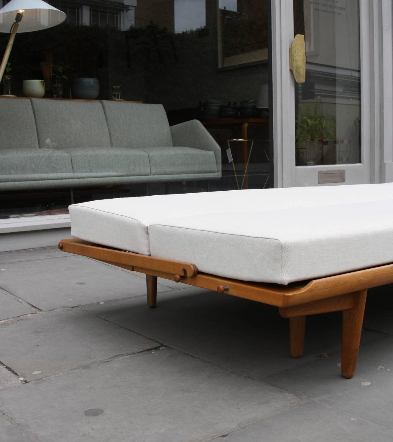 oak furniture sofa beds columbus poul volther or bed at 1stdibs
