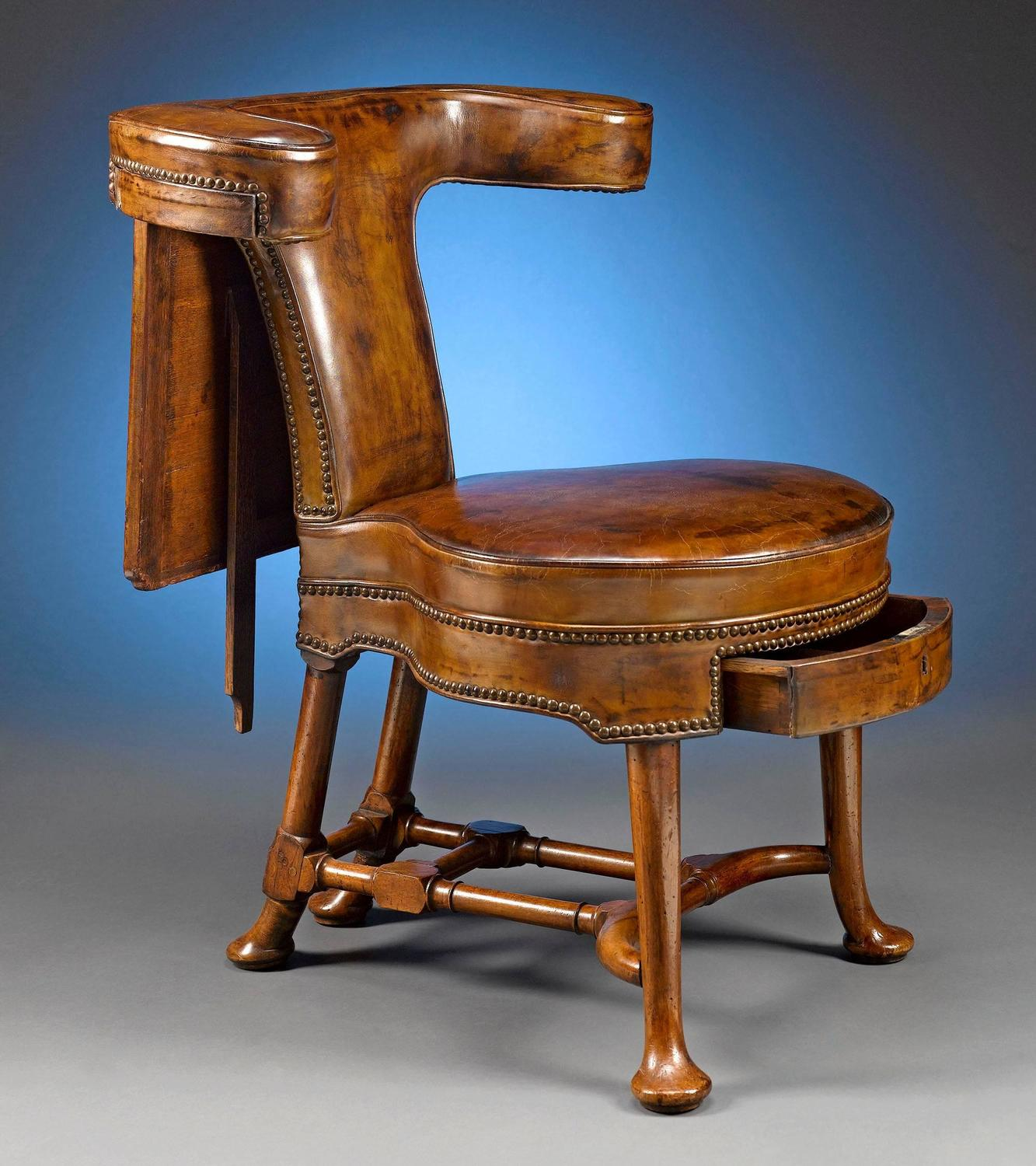 Reading Chairs 18th Century George Ii Walnut Reading Chair For Sale At
