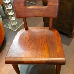 Wh Gunlocke Chair Tv Remote Holder For Pair Of Wood Chairs By W H Sale At 1stdibs