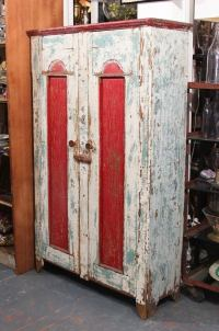 Midwest Cabinet in Old Paint For Sale at 1stdibs