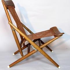 Folding Chair Rubber Feet Kitchen Table Covers For Sale Rare Maruni Studio Lounge Hiroshima Japan