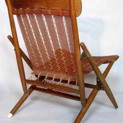 Folding Japanese Chair Covers Party Supplies Rare Maruni Studio Lounge Hiroshima Japan