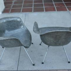Eames Bucket Chair Stainless Steel Chairs For Hospitals Pair Of Zenith Rope Edge Sale At 1stdibs