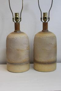 Ceramic Lamps by Casual Lamps at 1stdibs