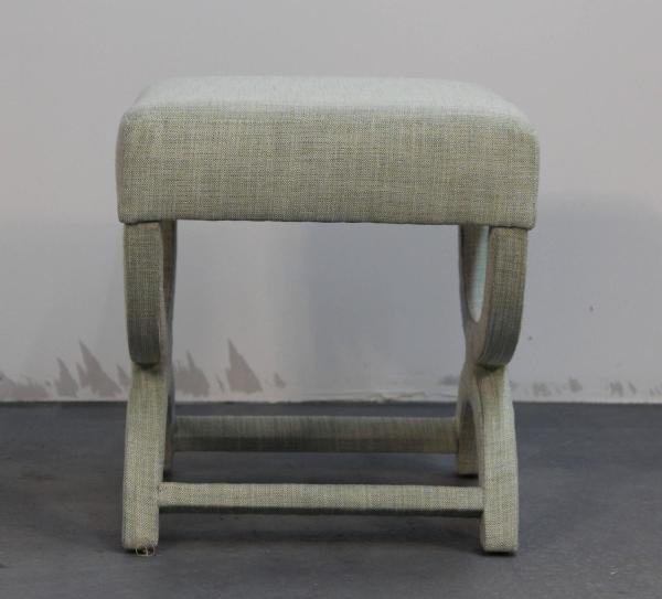 Pair of Custom Upholstered Benches at 1stdibs