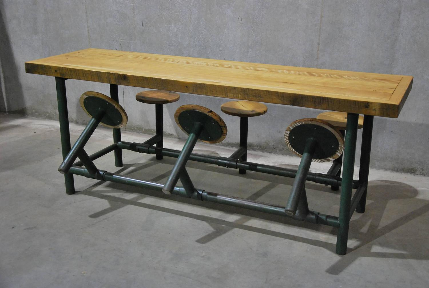 lunch room chairs phil teds poppy high chair factory flip table at 1stdibs