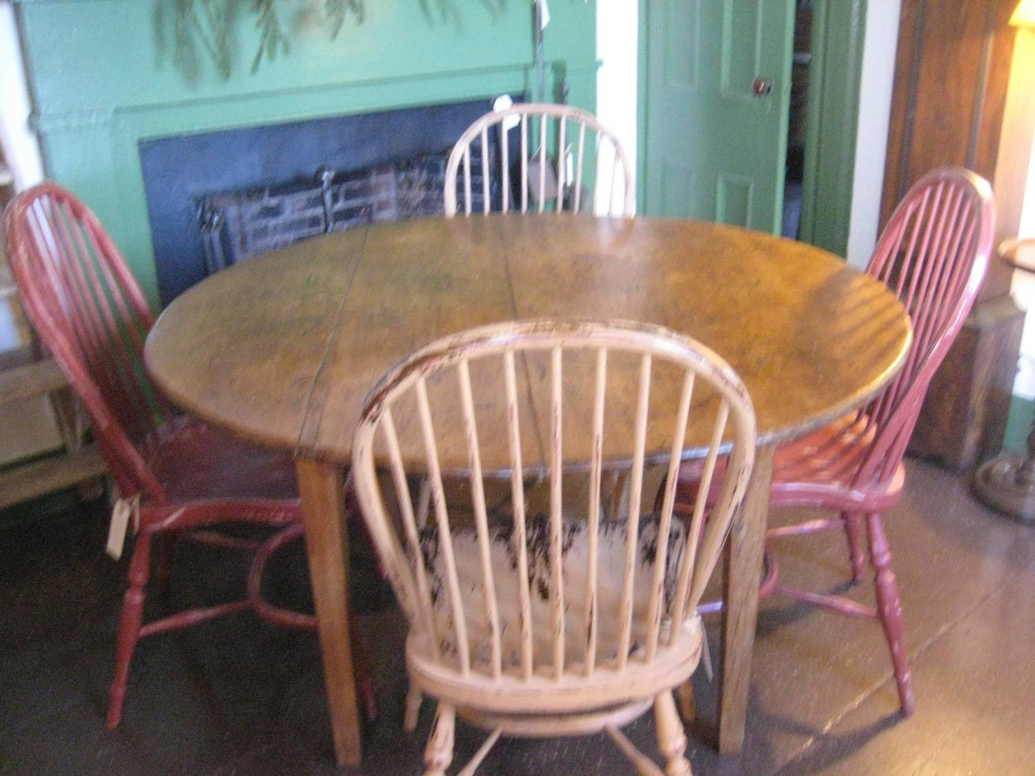 round card table and chairs antique rocking chair identification at 1stdibs