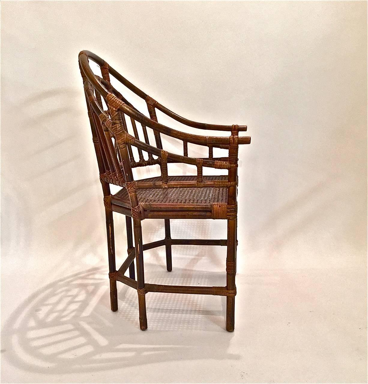 Pavilion Chair Set Of Ten Brighton Pavilion Style Dining Chairs At 1stdibs