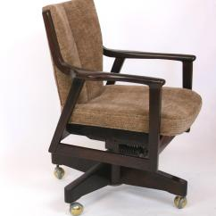 Mid Century Modern Desk Chair Mamas And Papas Vibrating For Sale At 1stdibs