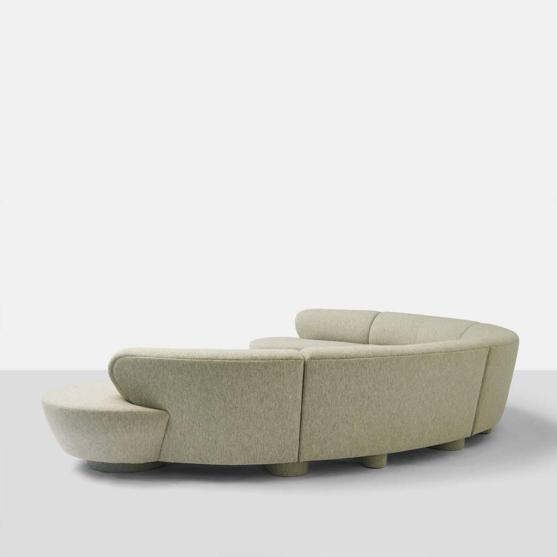 cloud sofa for sale cleaning microfiber vladimir kagan sectional at 1stdibs