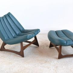 Adrian Pearsall Lounge Chair Outdoor Rocking Canada Rare And Ottoman By Craft