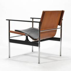 Knoll Pollock Chair Teal Dining Charles Model 657 Sling Lounge By For