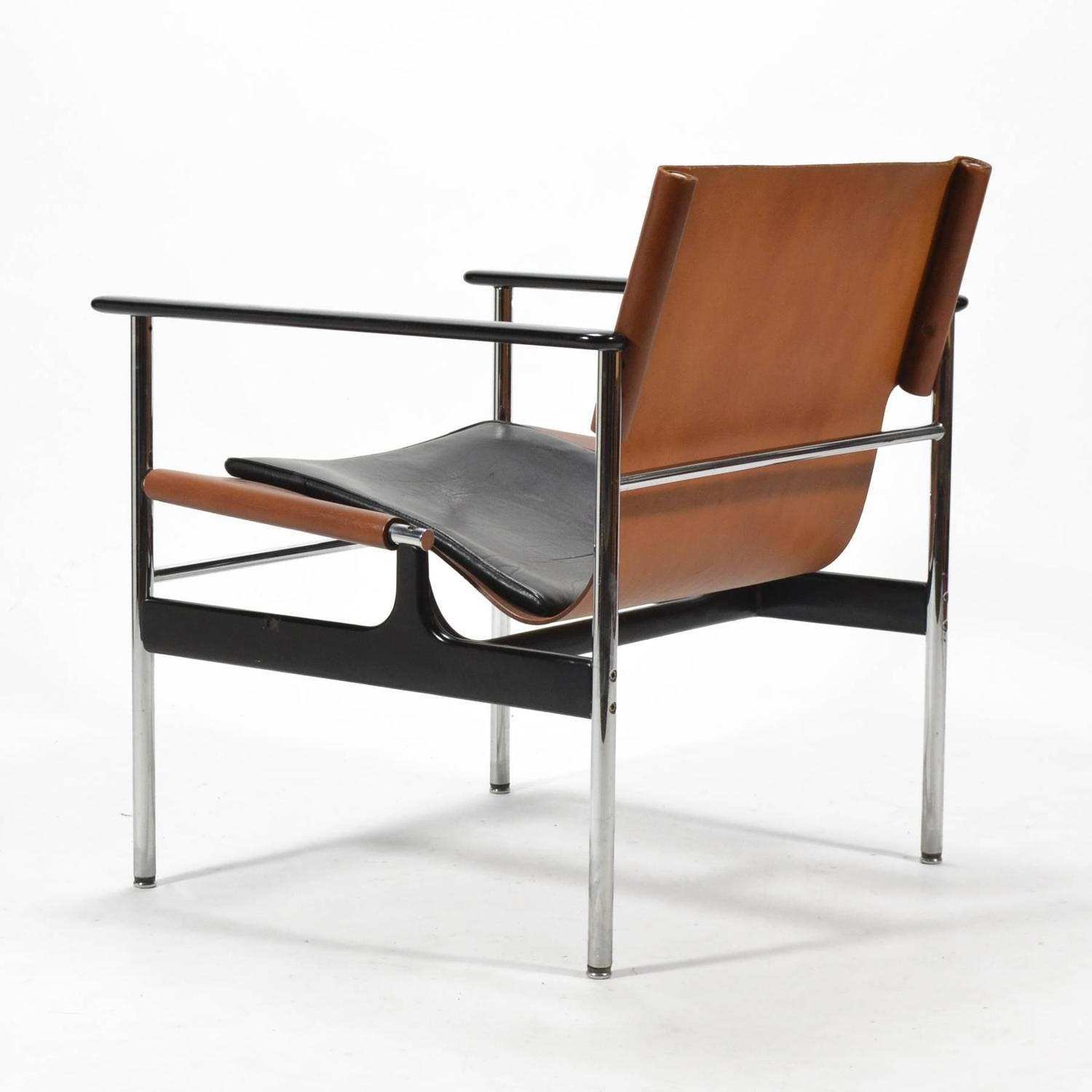 Knoll Pollock Chair Charles Pollock Model 657 Sling Lounge Chair By Knoll For