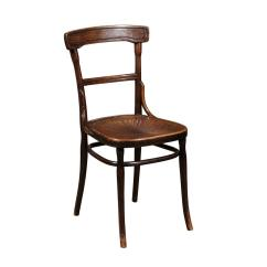 Thonet Chair Styles Low Back Dining Room Chairs Style Bentwood With Pressed Seat At 1stdibs