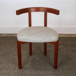 Teak Folding Chairs Canada Special Needs Chair Set Of Four Vintage Danish Round Back Dining