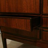 Vintage Danish Rosewood Tall Cabinet at 1stdibs