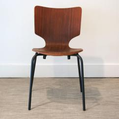 Black Metal And Wood Dining Chairs Types Of Couches Vintage Danish Teak Bent Ply On Matte