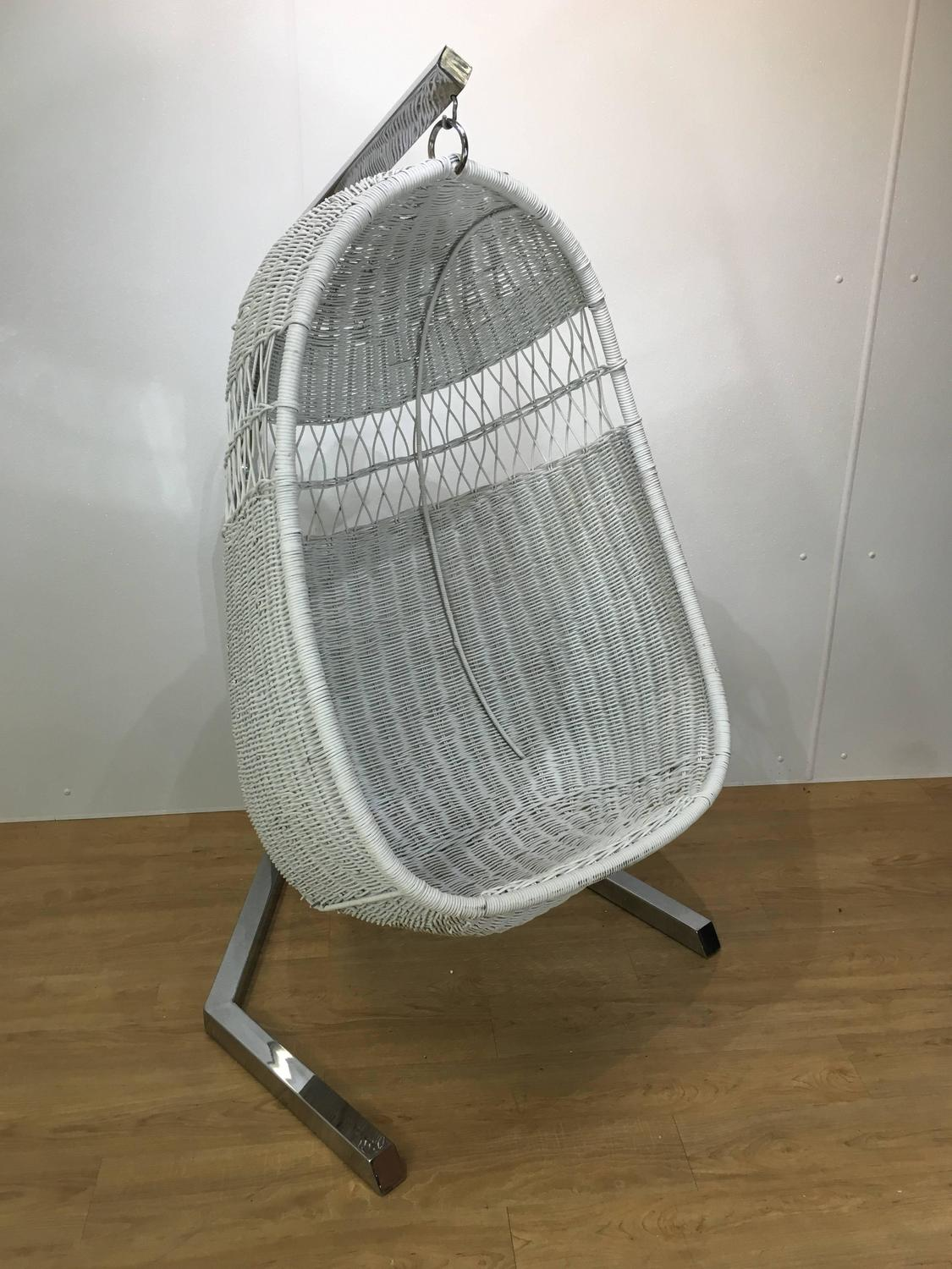 hanging chairs for sale swivel chair meaning 1970s wicker lounge at 1stdibs