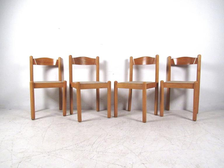rush seat chairs adirondack chair fire pit set italian dining at 1stdibs beautiful of four modern features seats and curved backs unique