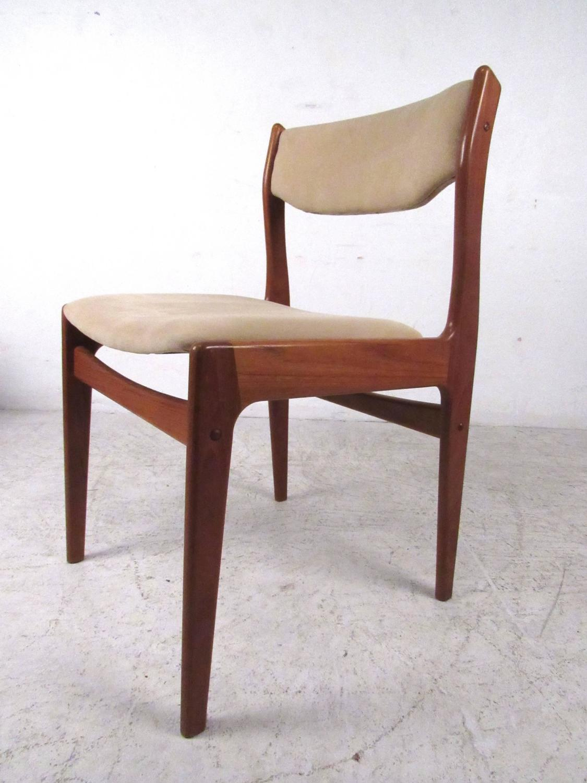 teak dining room chairs for sale chair covers tauranga set of mid century modern danish