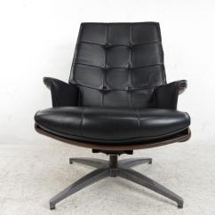 Heywood Wakefield Chairs Bulk Buy Chair Covers Uk Swivel Lounge With Ottoman At 1stdibs