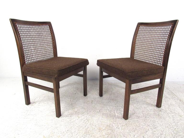 cane back chairs for sale cheap salon set of six mid century modern dining by lane american