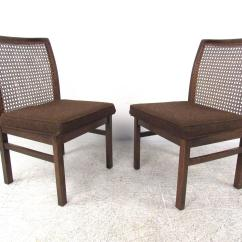 Cane Chairs For Sale Simply Bows And Chair Covers Cumbria Set Of Six Mid Century Modern Back Dining By
