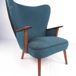 Modern Wingback Chairs For Sale Dining Room With Wheels And Arms Mid Century Lounge Chair By Madsen