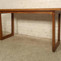 Vintage Lane Sofa Table Average Size Of A Throw Modern Walnut Console By For Sale At