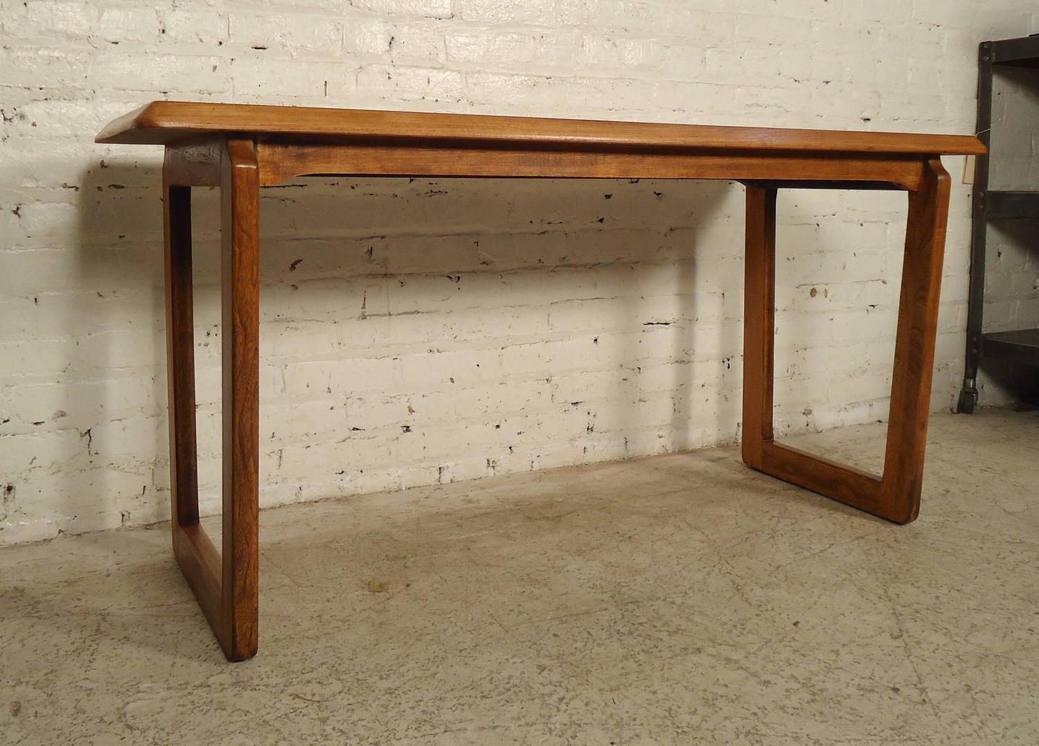 vintage lane sofa table battersea tetrad modern walnut console by for sale at