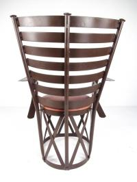 Contemporary Modern Sculptural Metal Armchair Throne For