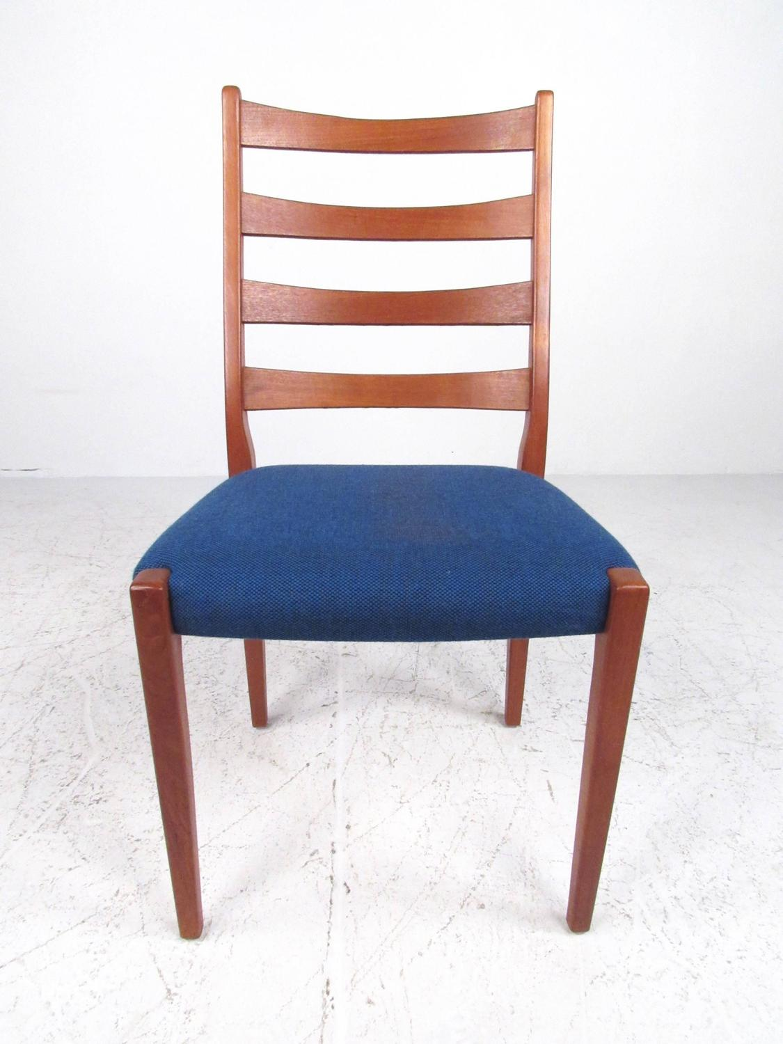 dining room high back chairs hairdresser sink and chair scandinavian modern teak by