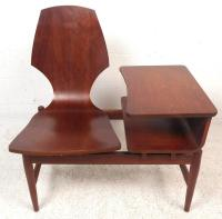 Mid-Century Modern Scandinavian Rosewood Telephone Table ...